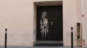 Police in Italy recover door with Banksy's artwork STOLEN from Paris Bataclan