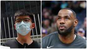 Hong Kong protest leader slams NBA star LeBron James for taking up black cause, but not anti-Beijing one