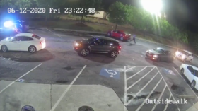 Atlanta police chief resigns over Rayshard Brooks shooting as new CCTV footage shows that 'unarmed black man' aimed taser at cops