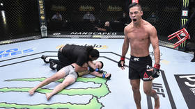 'He's sent him to hell': UFC's Tyson Nam OBLITERATES opponent as Vegas card makes history with vicious streak of KO wins (VIDEO)