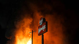'Pandering didn't save you': BLM-supporting Wendy's gets Twitter-roasted after mob torches Atlanta restaurant