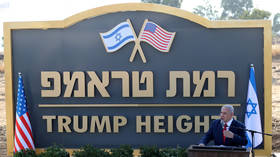 Happy Birthday, Mr. President: Israel approves funding for 'Trump Heights' settlement in occupied Golan Heights