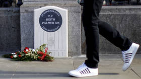 UK man given 2-week sentence for URINATING next to memorial of cop who died in 2017 Westminster attack