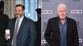 'You up for it?' Ted Cruz wants to see 'Hellboy' Ron Perlman wrestle congressman as 'kneeling' debate takes bizarre turn