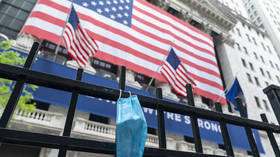 Dow plunges 600 points amid fears over potential second wave of Covid-19