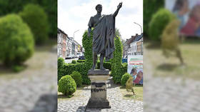 Celtic lives matter? Julius Caesar statue vandalized in Brussels, locals question motive