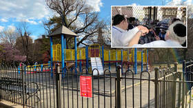 Protests good, playgrounds bad? NYC mayor chews out locals reopening kids' parks after cheering on George Floyd marchers