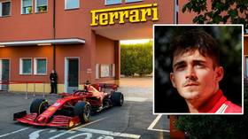 'Sorry if I woke you up!' Formula 1 ace Charles Leclerc drives his Ferrari F1 car through the streets of Maranello (VIDEO)