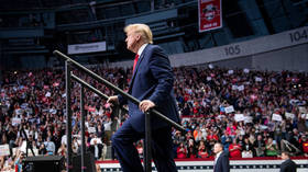 Trump warns 'protesters, anarchists & agitators' they face a 'much different scene' at his Oklahoma rally