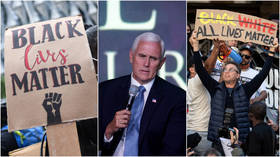 'Every human life is precious': Pence savaged after saying 'all lives matter' in interview