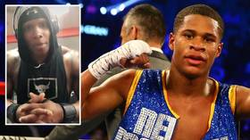 'Gladly welcome you to a beating': Hulking cop issues Instagram challenge to FIGHT BLM protestors & WBC champ Devin Haney ACCEPTS
