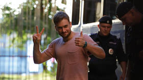 Pussy Riot co-founder Pyotr Verzilov jailed for 15 days on 'hooliganism' charges, activist says he was set up by police