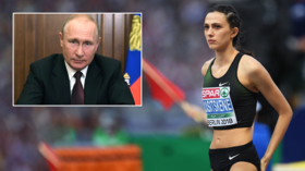 'We have no choice but to call on you': World champ Maria Lasitskene among top stars to ask Putin 'to save' Russian athletics