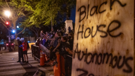 WATCH: DC Police unleash on 'Black House autonomous zone' protesters, fulfilling Trump's vow to use 'serious force'