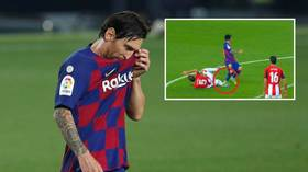 Barcelona boss Setien insists job ISN'T UNDER THREAT despite dropping MORE points in La Liga race on milestone night for Messi