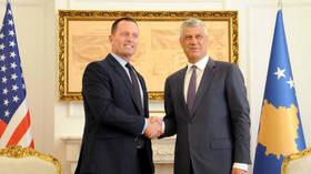 Kosovo 'president' cancels US trip after war crimes indictment but Trump-sponsored talks still on