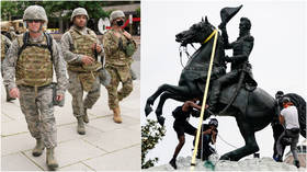 Hundreds of National Guard troops activated in Washington DC & Wisconsin to protect monuments