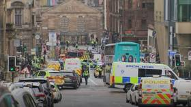 Suspect in Glasgow stabbing rampage dies after being shot by police (VIDEO)