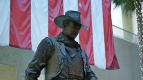 Woke mafia puts John Wayne on the chopping block next as Cali Dems demand airport renamed