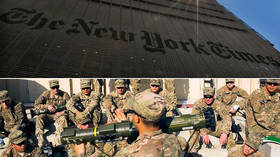 New York Times takes anti-Russian hysteria to new level with report on Russian 'bounty' for US troops in Afghanistan