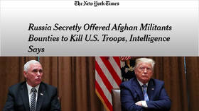 Trump & Pence never briefed on 'Russian bounties for Taliban', NYT story 'inaccurate' – US intelligence chief