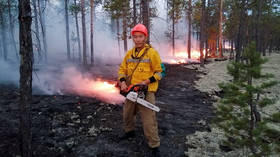 The Arctic is burning: As temperatures reach 100F, over a million hectares of Siberian forest is on fire