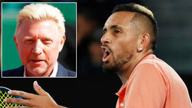 Tennis icon Becker brands Kyrgios a 'RAT' after Aussie calls out fellow ace Zverev for partying in wake of Covid-19 tour fiasco