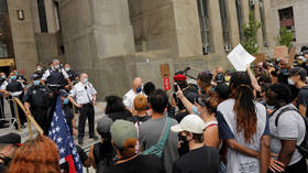 NYPD rousts City Hall occupiers demanding $1bn defunding as critical budget vote arrives (VIDEO)