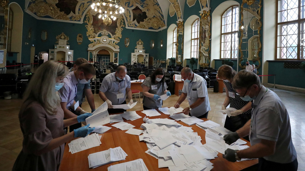 Russians overwhelmingly back changes to constitution with almost...