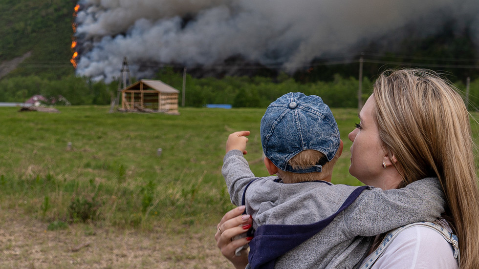 As wildfires ravage Russian forests, Arctic Siberia smashes record for hottest ever June