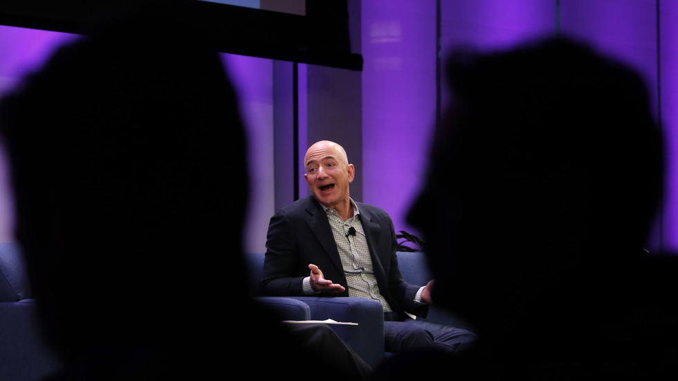 Embarrassment of riches? Jeff Bezos breaks own wealth record AGAIN amid coronavirus misery