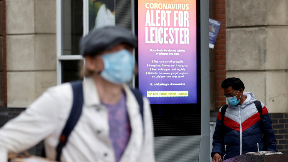 'Haven't got a clue': Leicester mayor hits out at UK govt as health sec says authorities fighting 100+ Covid-19 outbreaks A WEEK