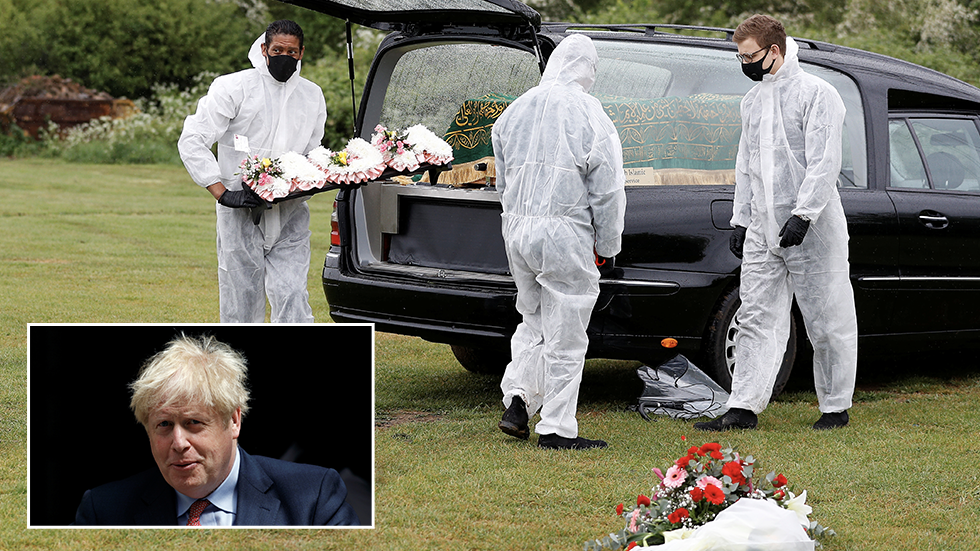BoJo accused of lacking empathy for Covid-19 victims after 'Calvin Klein briefs' jibe at Labour leader