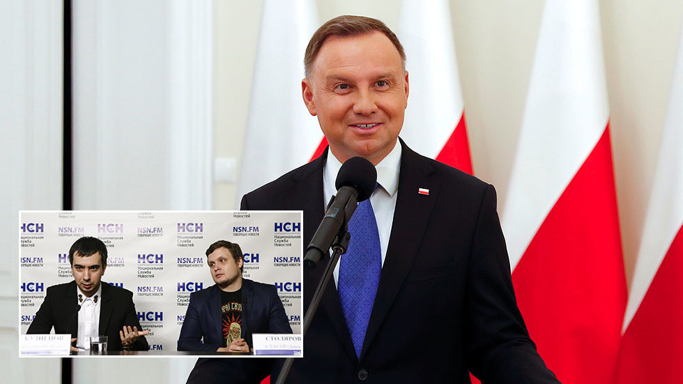 Polish president Duda duped by Russian prankster duo posing as UN chief