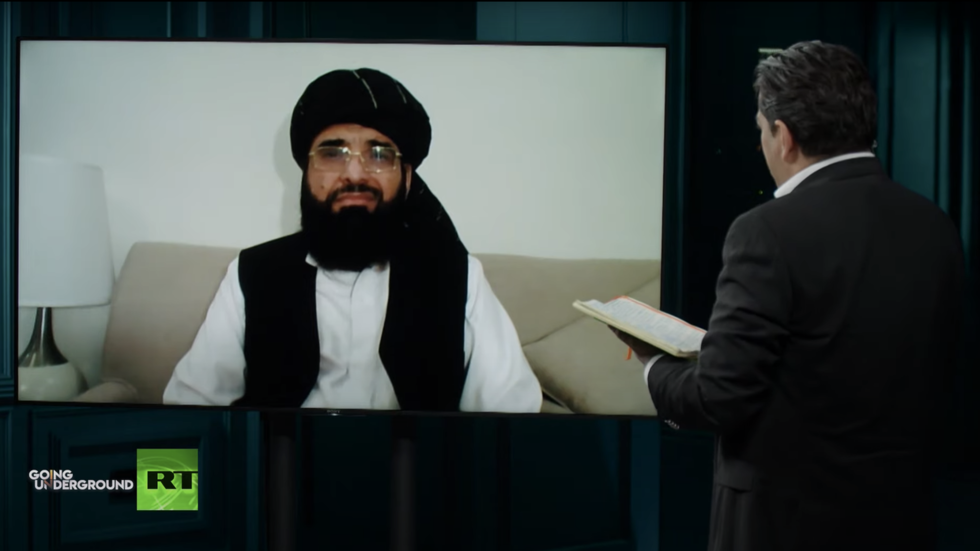 'Attempt to spoil a peace deal': Taliban spokesman says 'Russian bounties' story is fake news