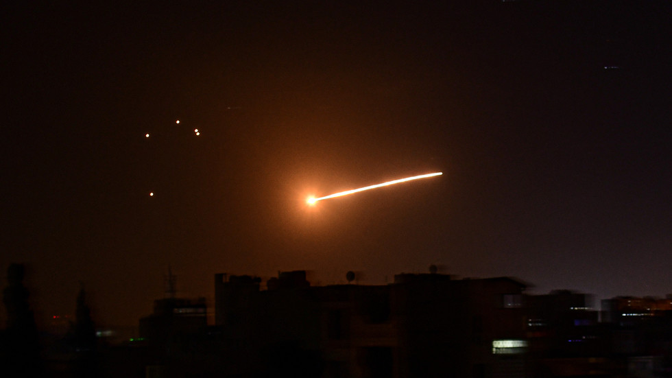 Damascus targeted in missile strike, Syrian state media blames Israel