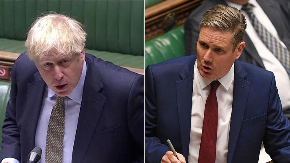 'Time to review RT's broadcast license?' BoJo & Starmer spar over 'Russian disinformation' in parliament (VIDEO)