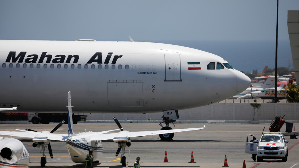 Tehran vows international probe into US 'terrorist' interception of Mahan Air plane over Syria