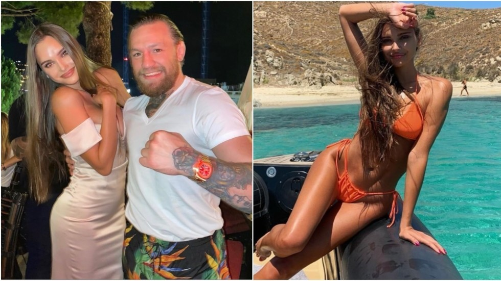 'Stop asking me these questions... he was with his wife!' Russian gymnast hits back at critics after Conor McGregor photo