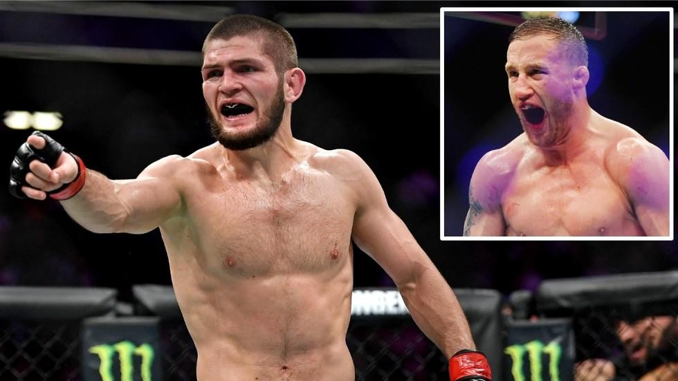 Khabib is BACK! Nurmagomedov set to make his UFC return against Justin Gaethje on October 24