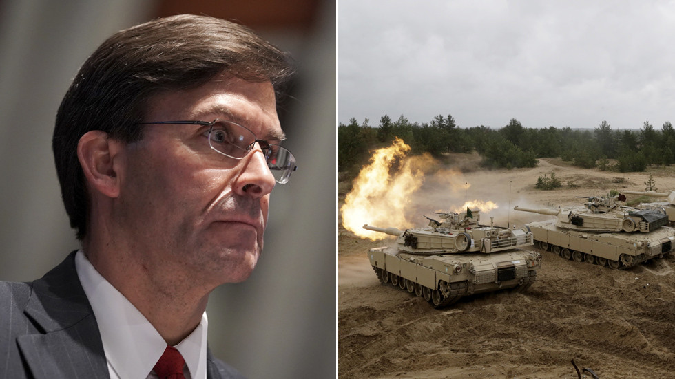 'A momentary lapse of honesty?' WATCH US Defense Secretary Esper saying NATO must 'avoid PEACE in Europe'