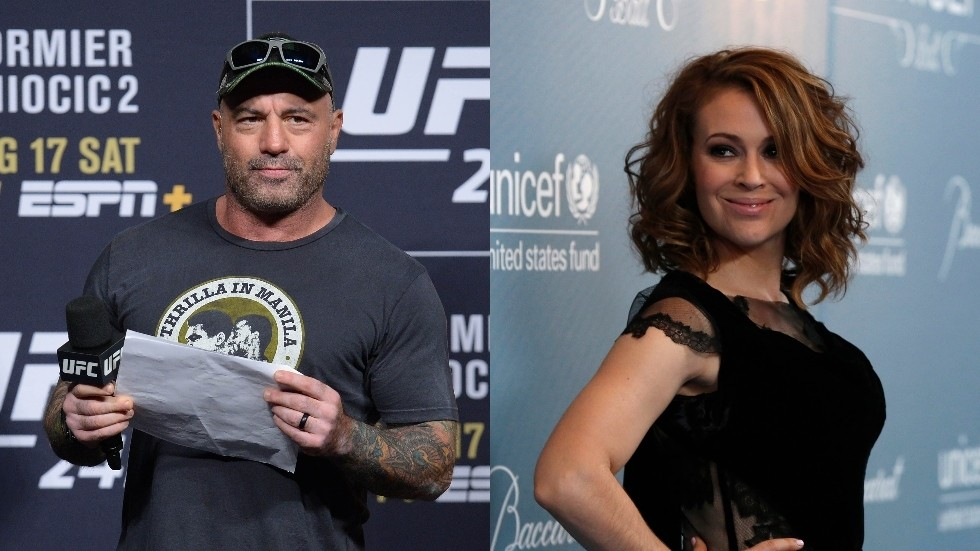 Alyssa Milano roasted after complaining that Joe Rogan's podcast has more listeners than hers does