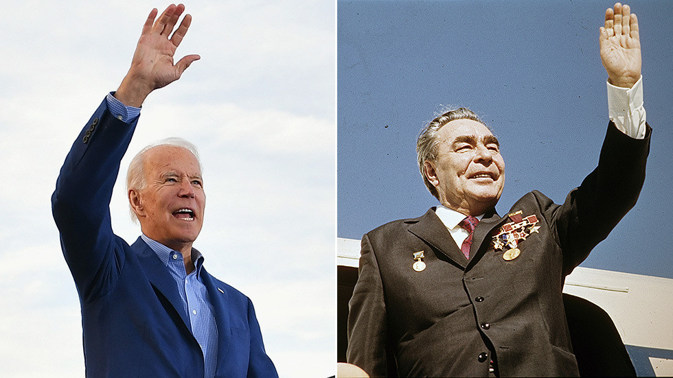 We gotta talk about Joe Biden's cognitive decline because his US media cheerleaders won't… it's so like the sad fate of Brezhnev