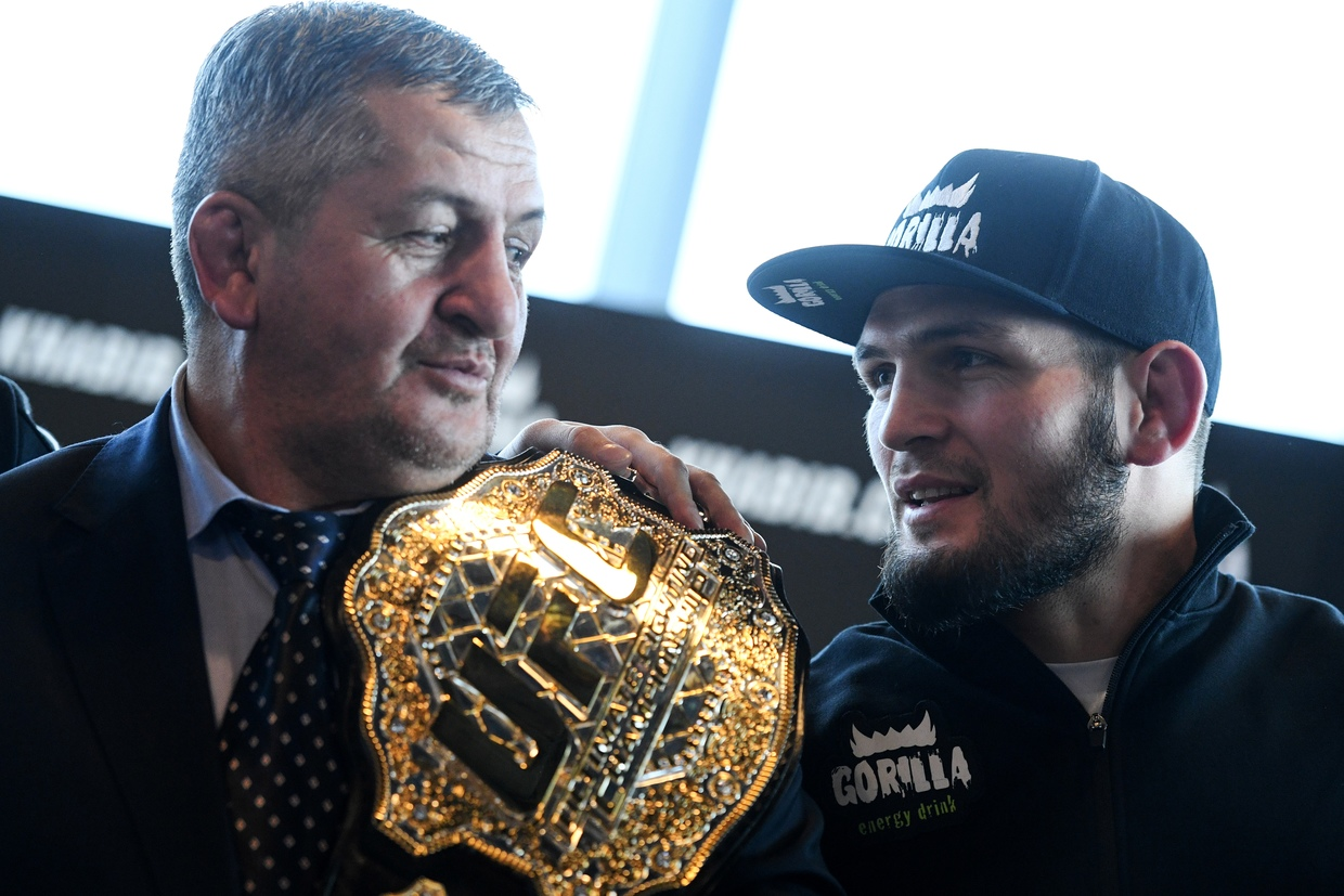 Fighter Nurmagomedov's Father and Coach Dies From Coronavirus Complications