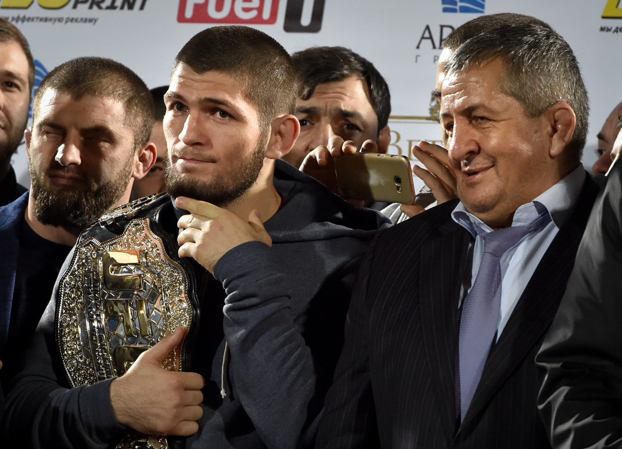 Khabib's father dies after COVID-19 complications