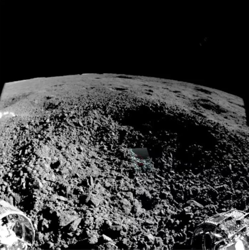 Weird green gel-like substance found on the moon finally identified
