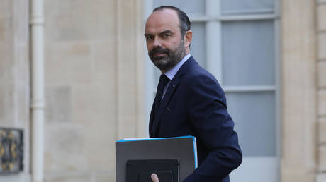 The outgoing Prime Minister Edouard Philippe © Ludovic MARIN / AFP