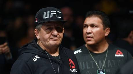 Abdulmanap Nurmagomedov has passed away from complications due to Covid-19 infection aged 57 - Getty Images