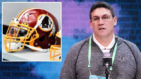 Washington head coach Ron Rivera