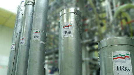 FILE PHOTO: The atomic enrichment facilities inside the Natanz nuclear power plant in Iran. © Atomic Energy Organization of Iran / AFP